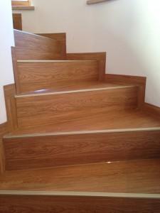 Vinyl Treppe